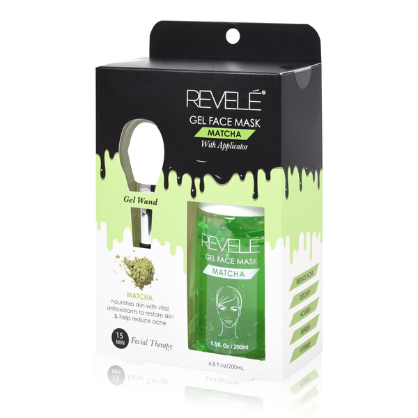 Revele Matcha Gel Face Mask With Applicator