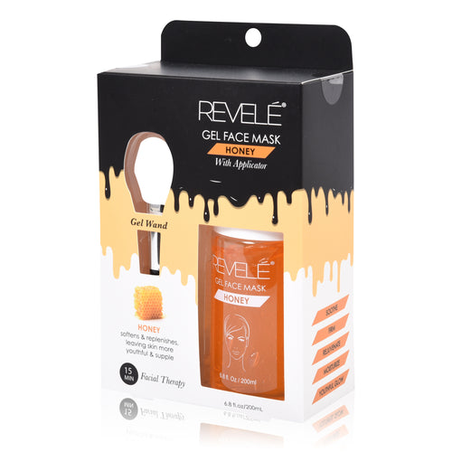 Revele Honey Gel Face Mask With Applicator