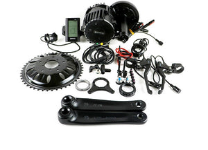 Bafang 1000W Mid-Drive Electric Bike Kit w/ 15AH Lithium Ion Battery