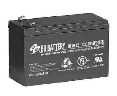 SLA Battery 10AH 12V BP Series