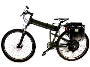 Electric Bike - Country Commuter 3kW - 47 mph