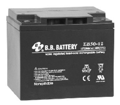 50 AH 12V EV Sealed Lead Acid Electric Bike Battery