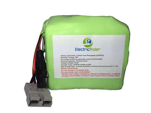 LiFePO4 Lithium 36V 10AH Clydesdale Edition Battery for Electric Bikes