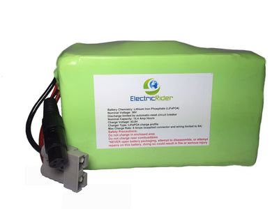 LiFePO4 Lithium 36V 15AH Clydesdale Edition Battery for Electric Bikes