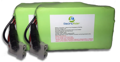 LiFePO4 Lithium 72V 15AH Clydesdale Edition Battery for Electric Bikes