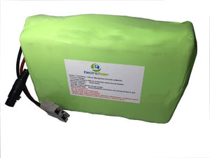 Lithium Ion 36V 10AH Battery for Electric Bikes - Up To 1600 Cycles