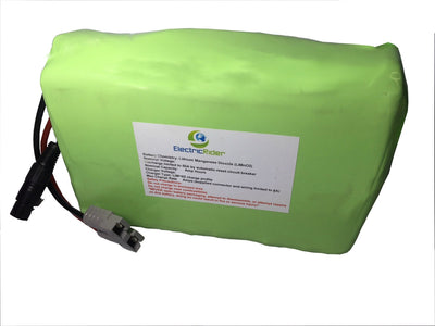 Lithium Ion 48V 10AH Battery for Electric Bikes - Up To 1600 Cycles