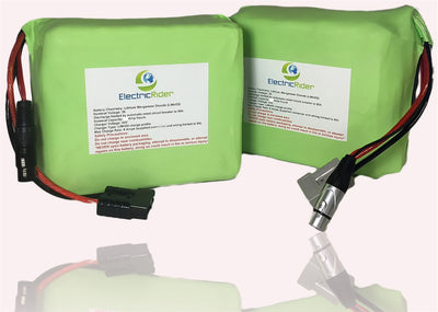 Lithium Ion 72V 10AH Battery for Electric Bikes - Up To 1600 Cycles