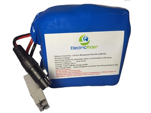 Lithium Ion 36V 13AH Battery for Electric Bikes - Up To 1600 Cycles