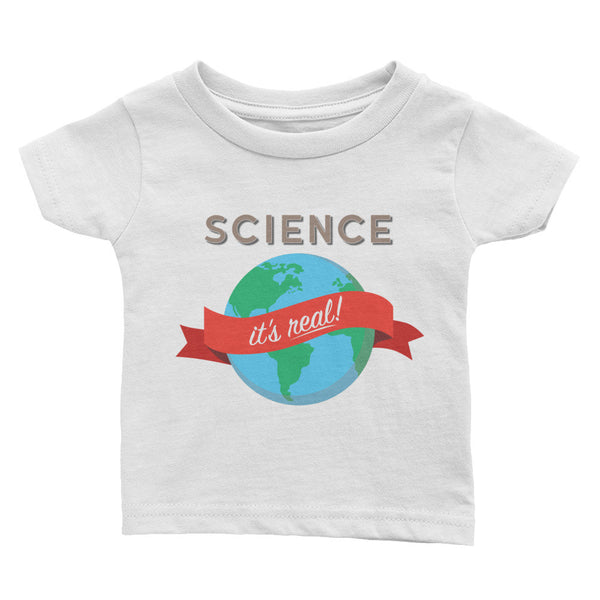 Science - It's Real! Infant Tee