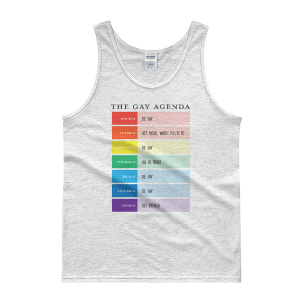 The Gay Agenda Tank top