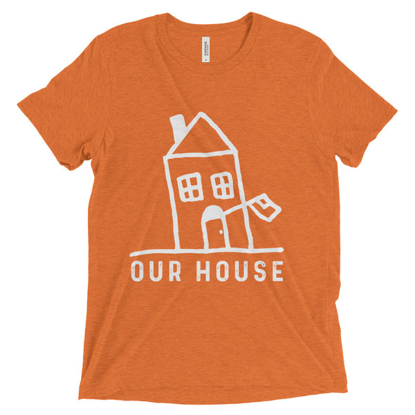 Our House Logo Unisex Short sleeve t-shirt