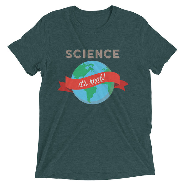 Science - It's Real! Unisex Short sleeve t-shirt