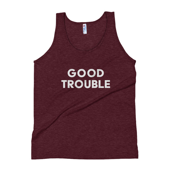 Good Trouble Unisex Tank Top