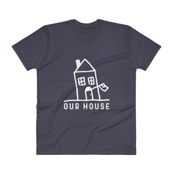 Our House Logo Unisex V-Neck T-Shirt