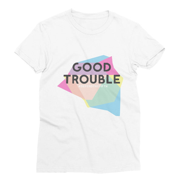 Good Trouble Women's Short Sleeve T-Shirt