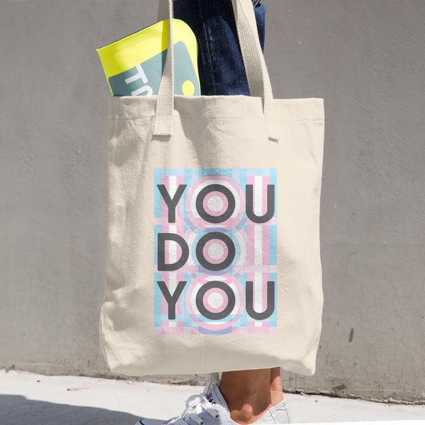 You Do You Cotton Tote Bag