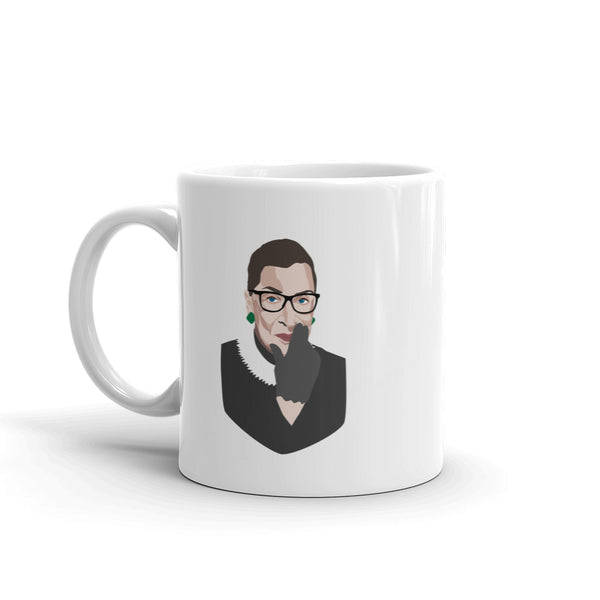 "Ruth Bader Ginsburg ""When there are nine"" Mug"