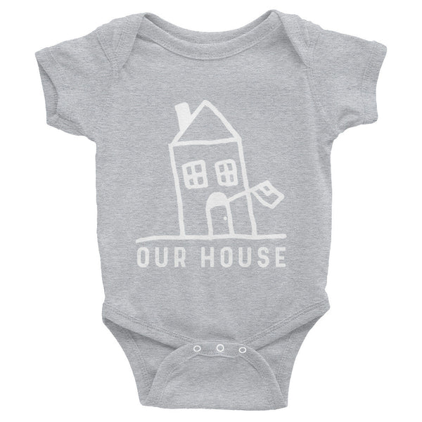Our House Logo Infant Bodysuit