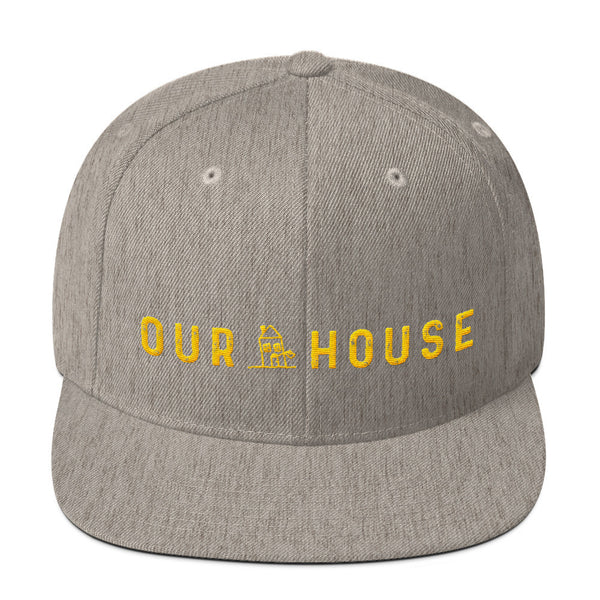 Our House Logo Wool Blend Snapback