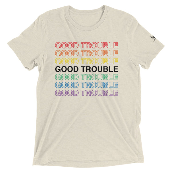 Good Trouble Pride Short sleeve t-shirt