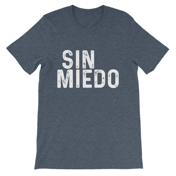 Sin Miedo Block Unisex short sleeve t-shirt