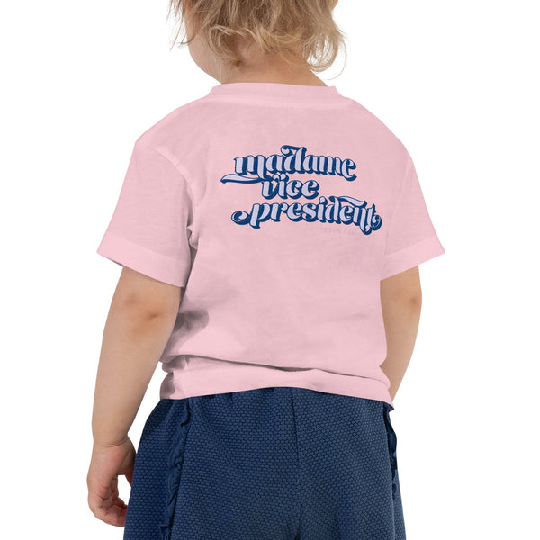 Kamala Harris Madame Vice President Toddler Short Sleeve Tee