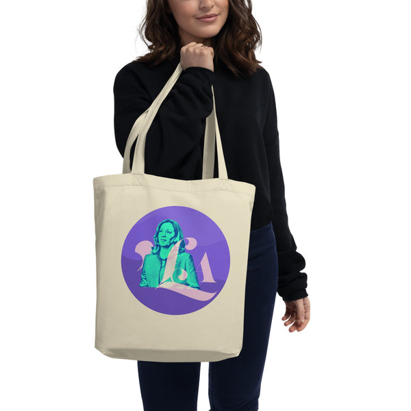 Kamala Harris Madame Vice President Eco Tote Bag