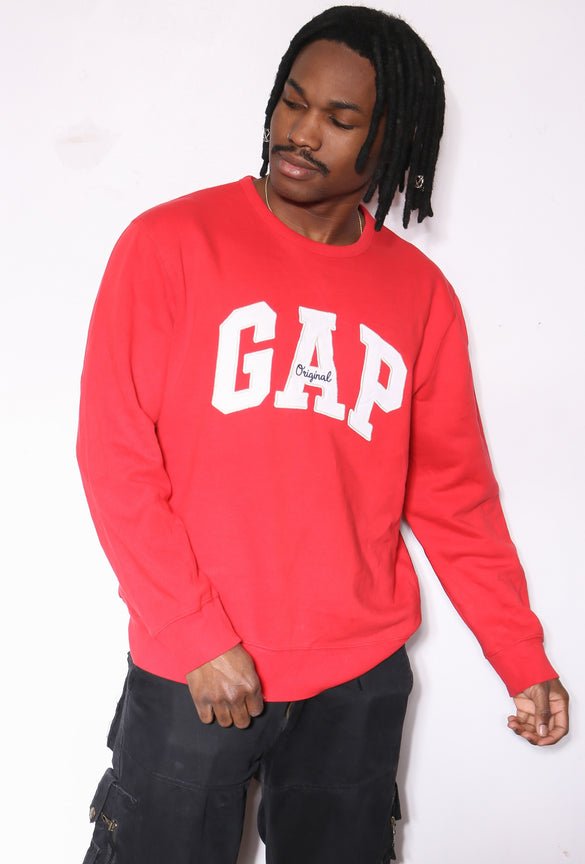 90'S RALPH LAUREN NAVY WITH RED PONY BUTTON UP S/S SHIRT (X-LARGE)