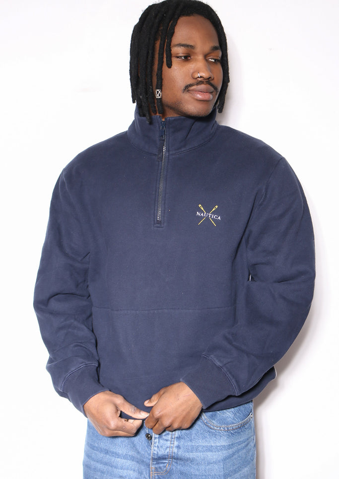 90'S POLO RALPH LAUREN FLEECE PLAID WITH LEATHER BRIM CAP (OS)