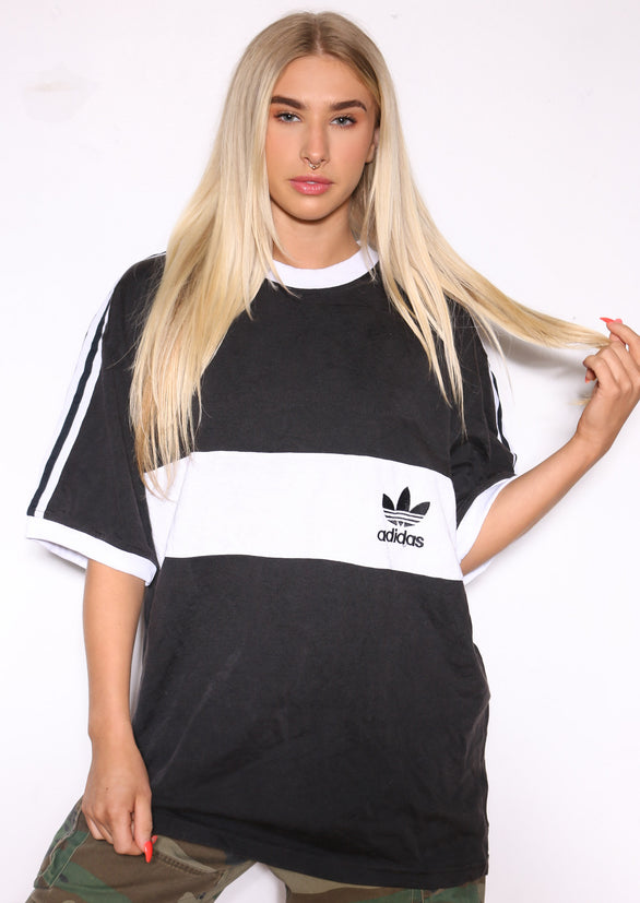 90'S TOMMY HILFIGER YELLOW AND NAVY WITH SPELL OUT FULL ZIP HOODED JACKET *MARKS/DISCOLOURATION THROUGHOUT* (X-LARGE)