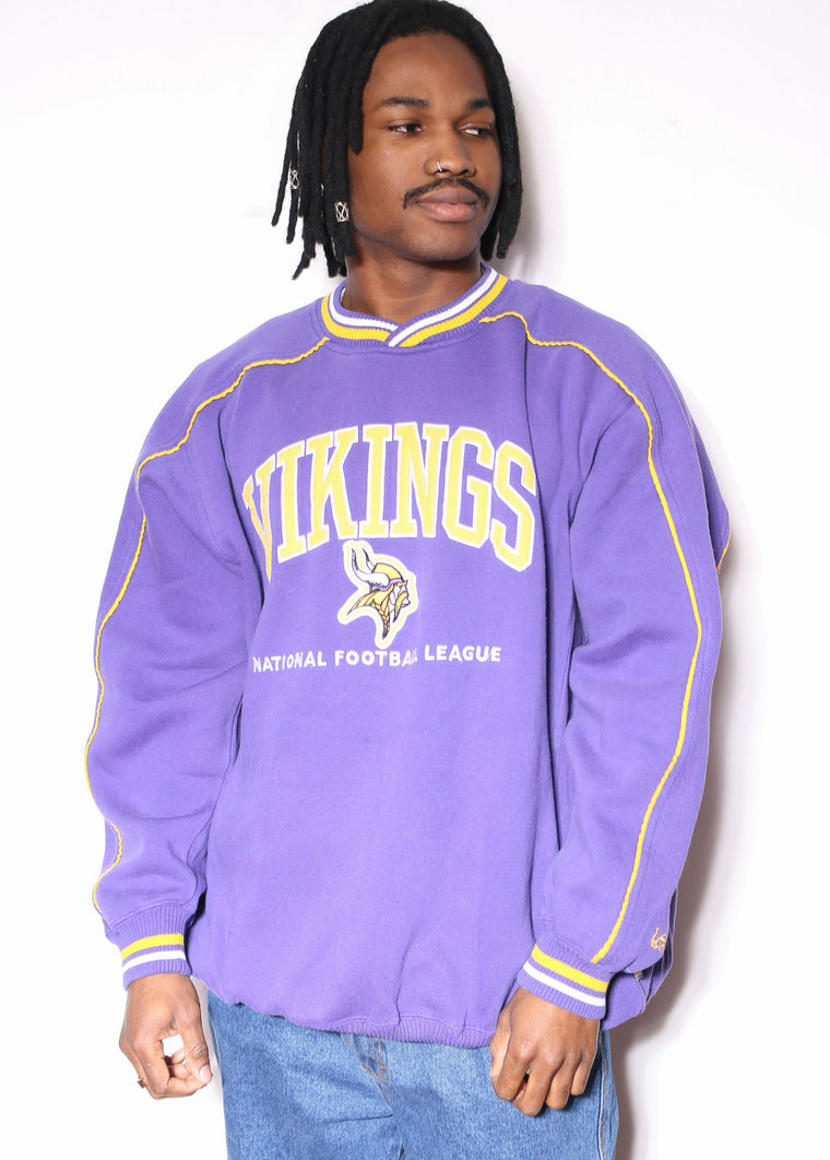 'Vintage Nautica Competition Embroidered Spellout Sleeves Orange Fleece Block Zip Sweatshirt