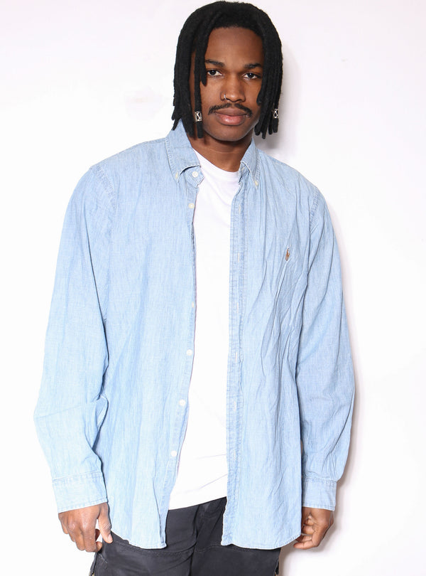 90'S NOTRE DAME GREEN TEE *MISSING SIZE* (FITS LARGE)