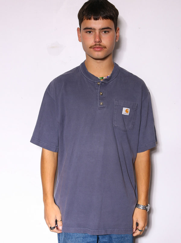 90S NAUTICA NAVY WITH WHITE STRIPES AND YELLOW LINING SAILING JACKET (X-LARGE)