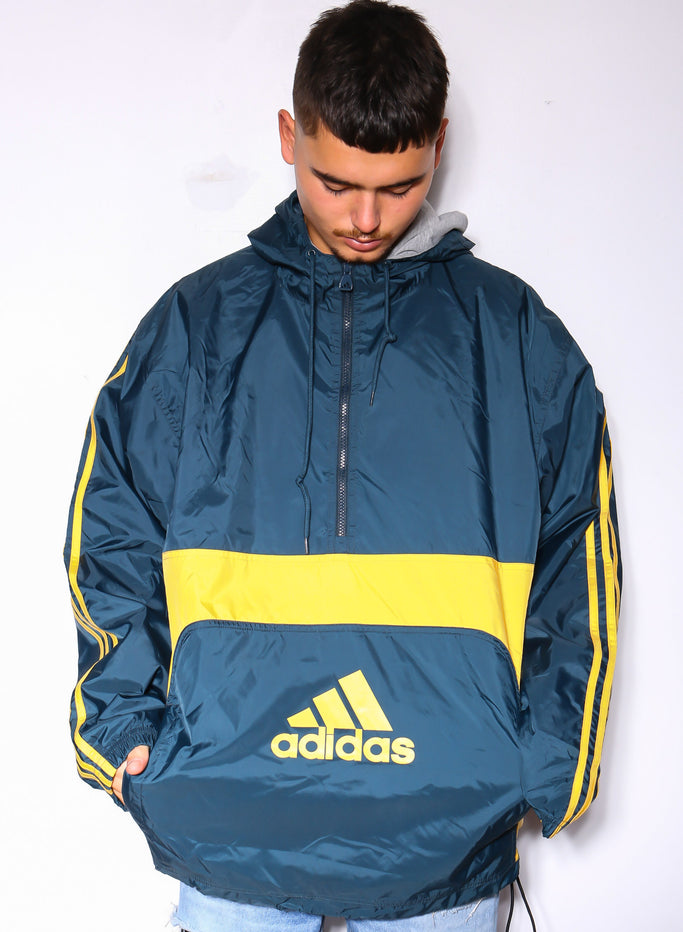 90S POLO RALPH LAUREN ORANGE WITH BLACK EMBROIDERED HORSE SWEATER (L)