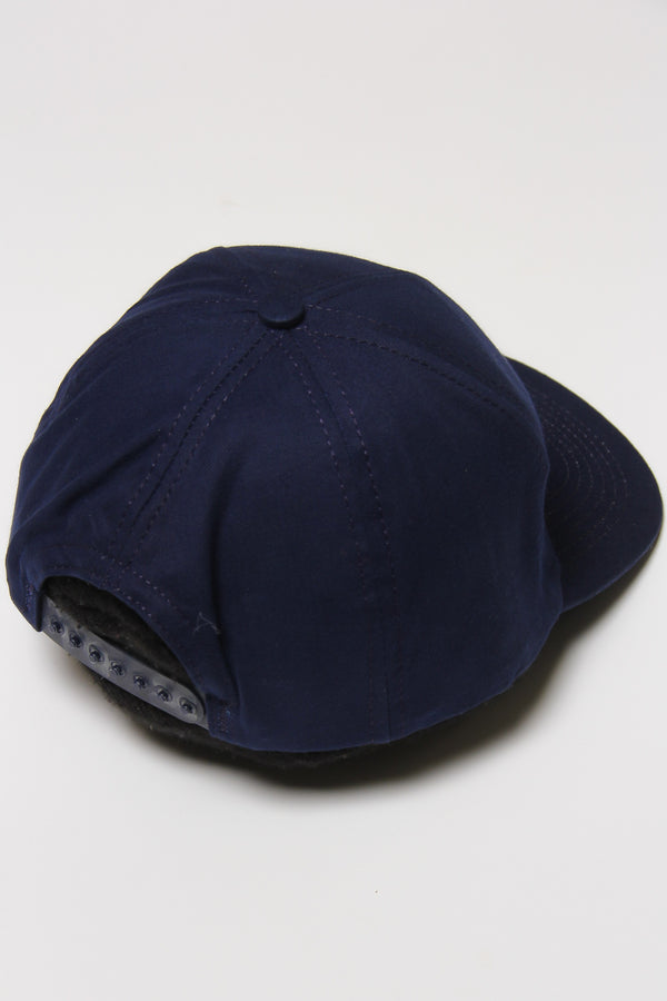 DEADSTOCK 90'S TIDE RACING TEAM NAVY SNAP BACK CAP (OS)