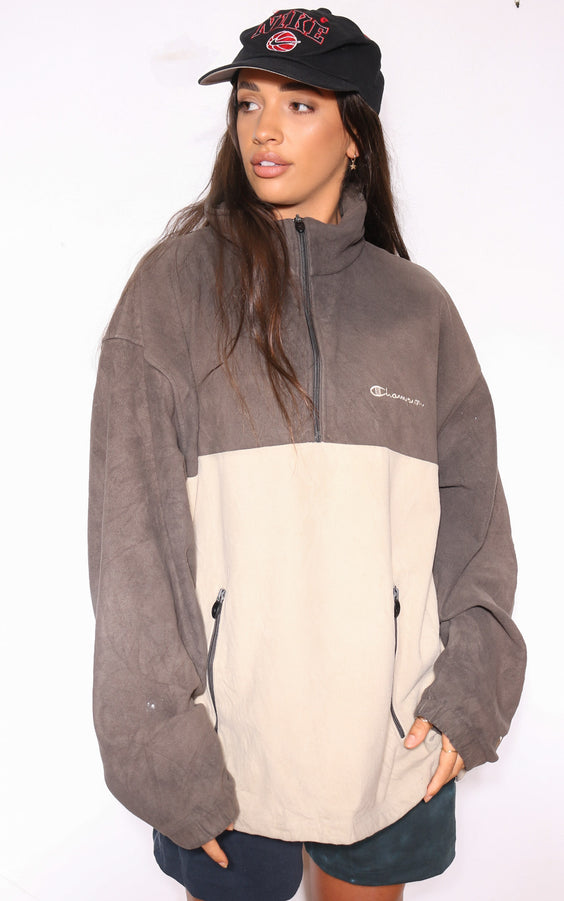 90S NAUTICA YELLOW / WHITE STRIPES WITH EMBROIDERED YACHT LOGO L/S SHIRT (M)