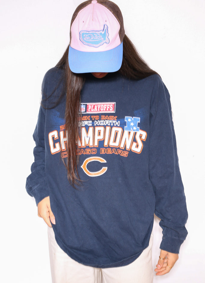 90'S TOMMY GIRL R/S YELLOW SWEATSHIRT (L) *MARKS THROUGHOUT