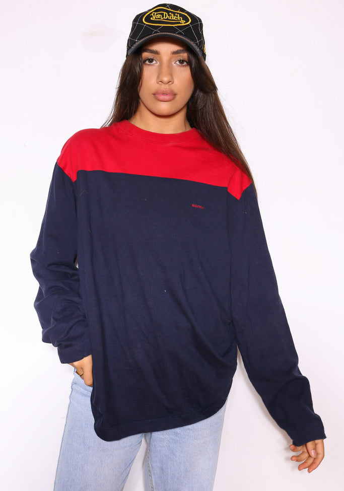 90'S ELLESSE ITALY EAR FLAP CAP (OS) - peak has snapped on the inside