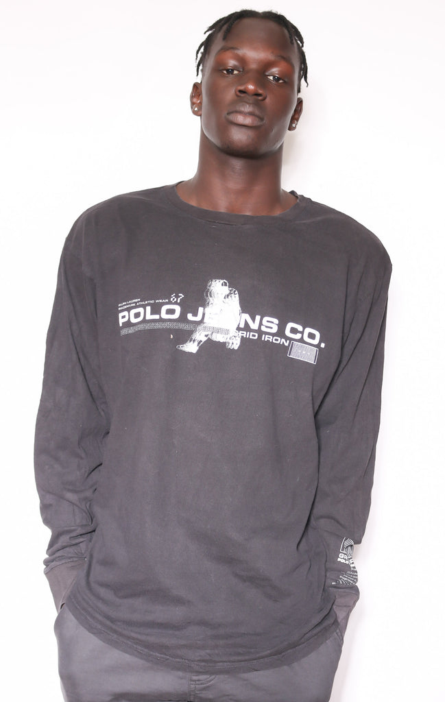 90'S NEBRASKA HUSKERS EMBROIDERED SWEATSHIRT (LABELLED X-LARGE FITS XX-LARGE)