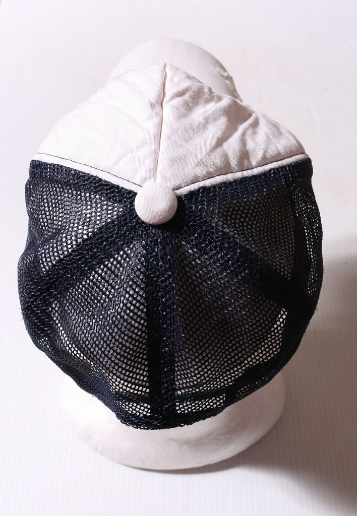 90'S REEBOK NAVY WITH LOGO TEE *WASHED MARKS FRONT AND BACK* (MISSING TAG FITS X-LARGE)
