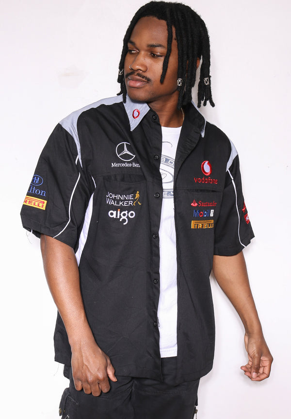 90's CHICAGO BULLS Red Distressed Sweatshirt  (M) No Size Tag