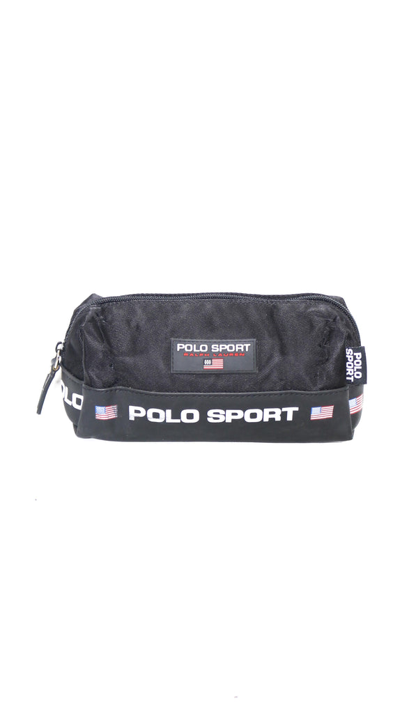 90's Polo Sport Black Pencil Case