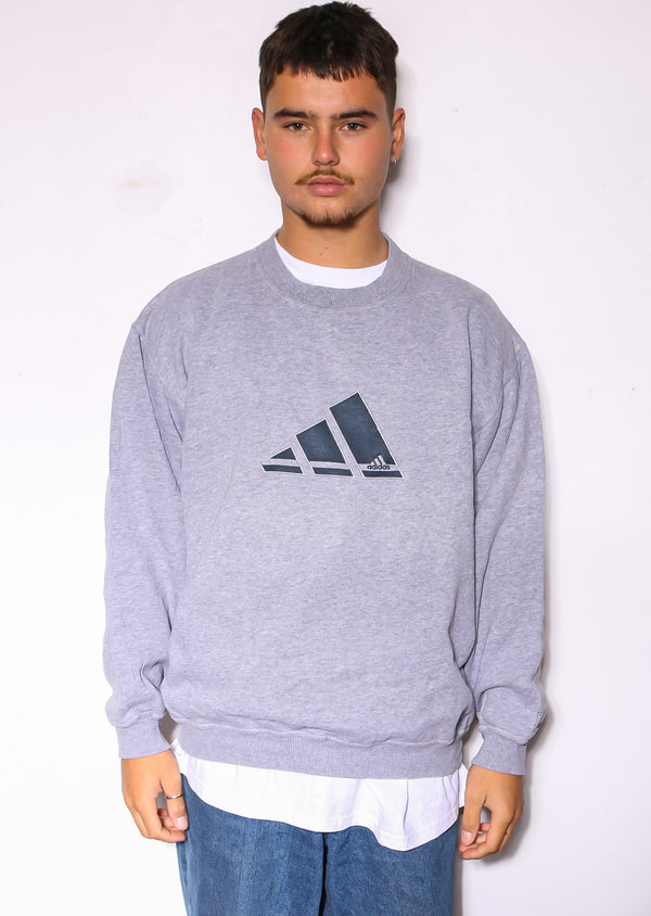 90S POLO RALPH LAUREN BLUE WITH NAVY S/S SHIRT (S)