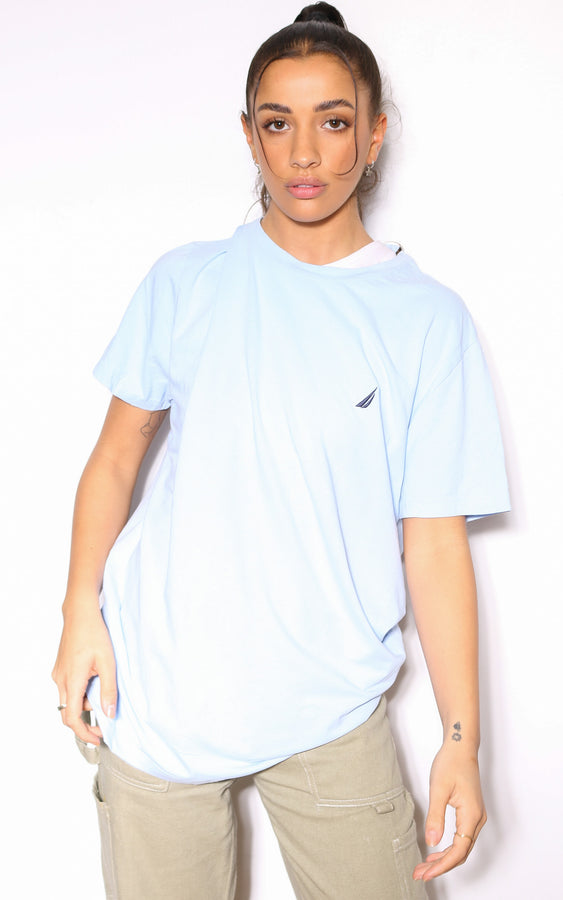90'S RALPH LAUREN PURPLE WITH NAVY PONY KNIT (X-LARGE)