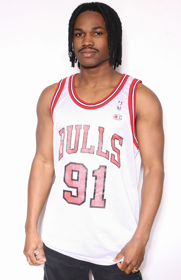 90'S ADIDAS NAVY WITH BIG WHITE EMBROIDERED MOUNTAIN LOGO JERSEY STYLE TEE (XXL) *NO SIZE TAG