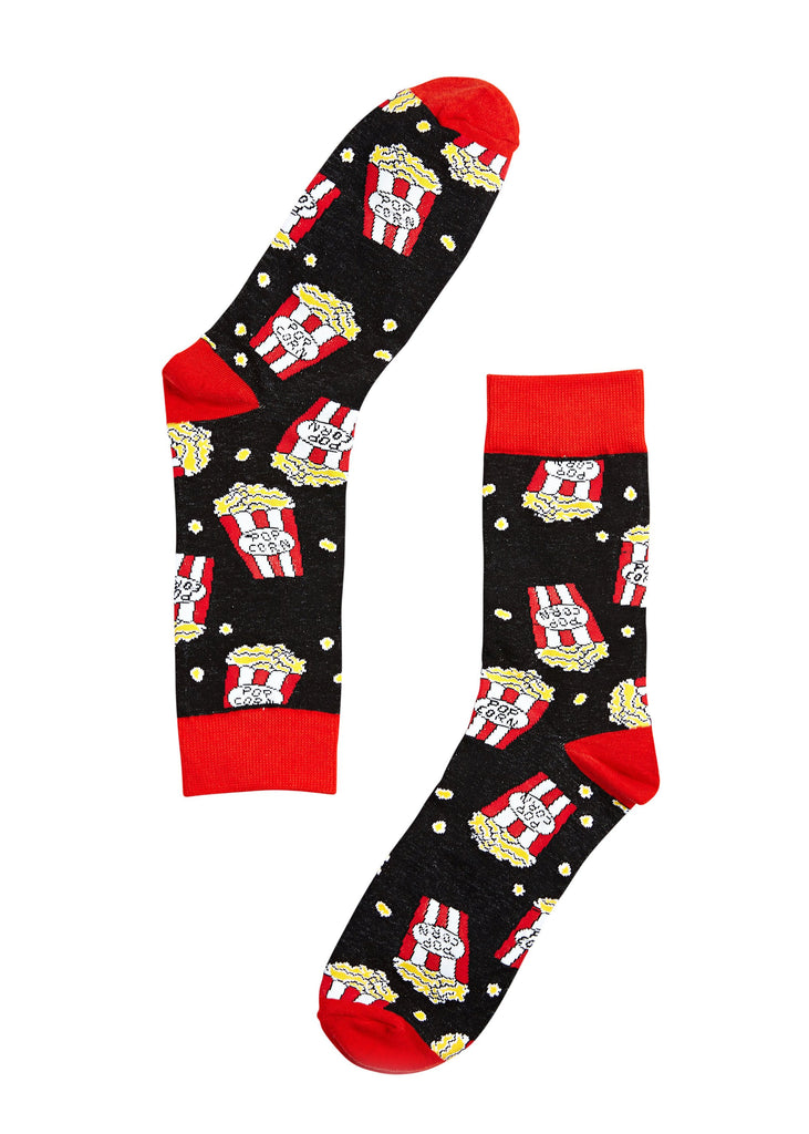 Movie Time Socks