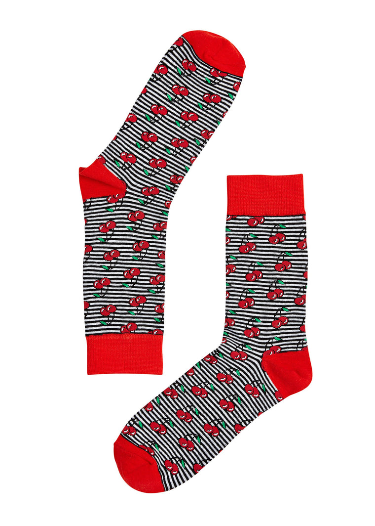 Cherry On Top Socks