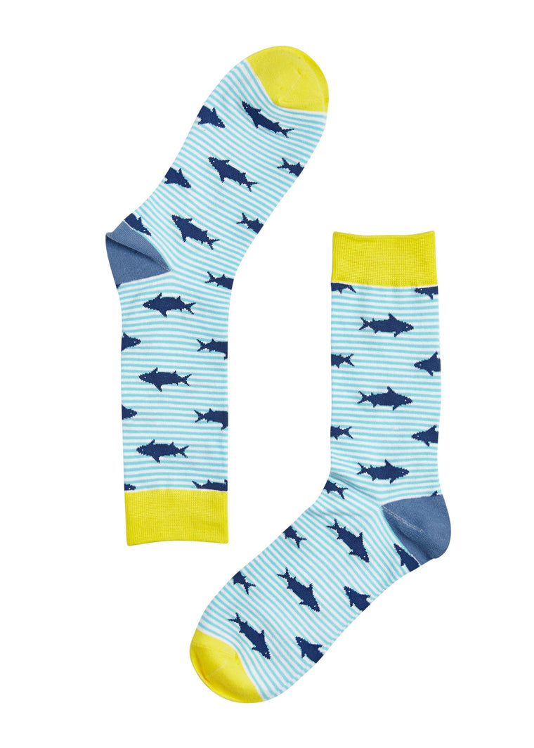 Sharky McSharkson Socks