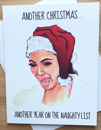 Naughty List Card